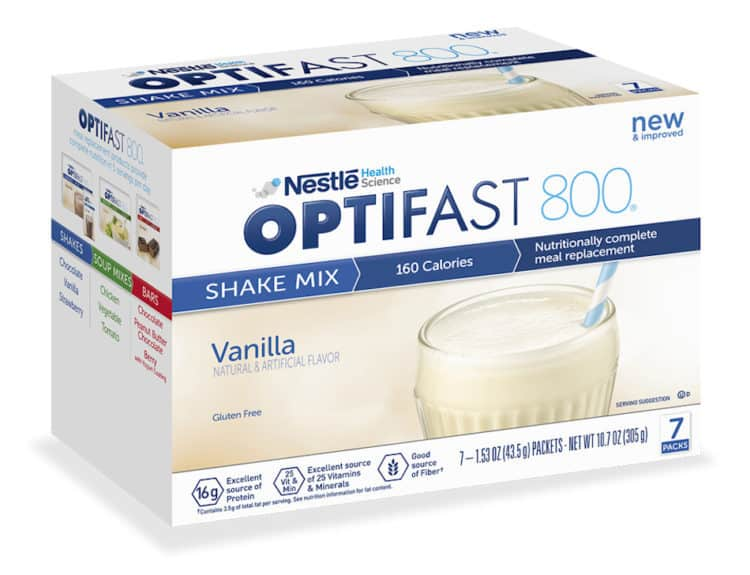 Optifast supervised weight loss at Newport Medical and Wellness Center