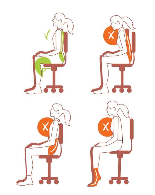 Good Posture - Sitting, Bad Back | Newport Medical & Wellness Center